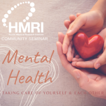 Mental Health: Taking Care of Yourself & Each Other Virtual Community Seminar