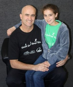 Dr Jon Pauley and daughter, Sofia