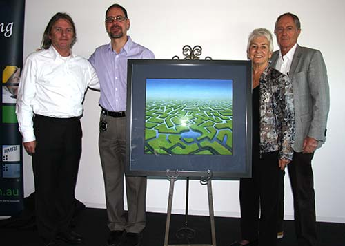 The 2013 HMRI Art Series was proudly unveiled this morning at a supporter breakfast in the HMRI Building.