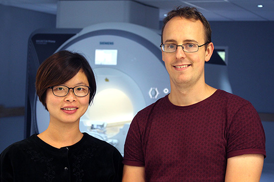 Dr Longting Lin and Dr Andrew Bivard .