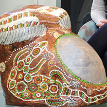 Gomeroi Gaaynggal arts health program