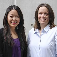 Susan Hua and Sarah Johnson