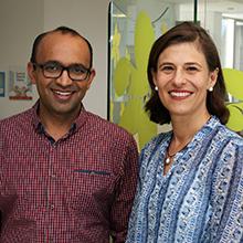 Dr Pradeep Tanwar and Dr Janine Lombard
