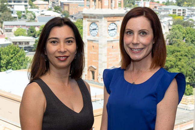 Dr Rebecca Lim and Dr Hayley Scott