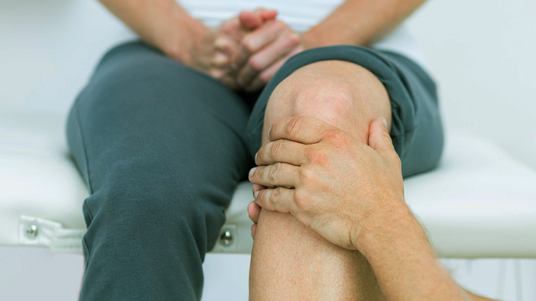 Knee replacement rehab