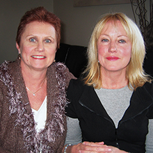 Lorraine Gardner and Janelle Shakespeare