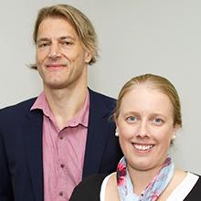 Professor Joerg Mattes and Dr Vanessa Murphy