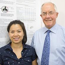Dr Rachel Wong and Professor Peter Howe