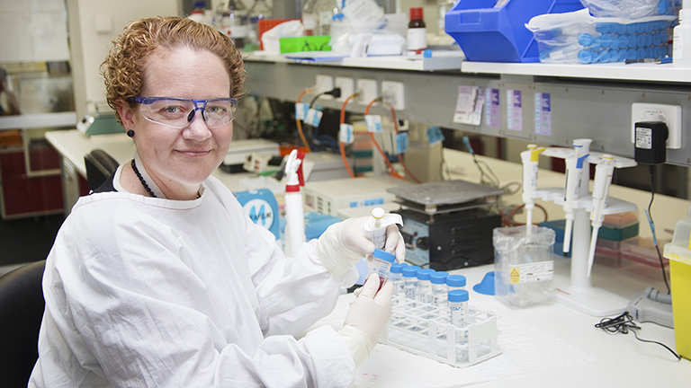 Associate Professor Nikola Bowden is one of a number of HMRI researchers working in ovarian cancer