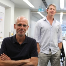 Professor Hubert Hondermarck and Associate Professor Nathan Bartlett