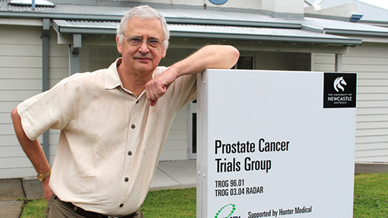 Conjoint Professor Jim Denham - prostate cancer researcher