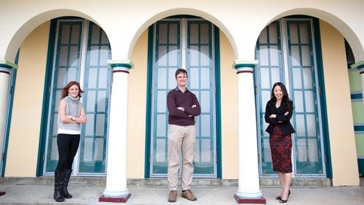 Dr Tracy Burrows, Dr Adam Collison, Dr Susan Hua