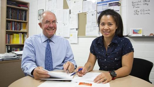 Professor Peter Howe and Dr Rachel Wong