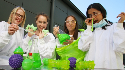 Goo, poo and who 'nose' what else at HMRI's Open Day