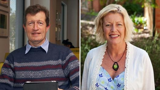 Associate Professor David Durrheim and Professor Amanda Baker