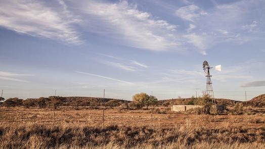 Farm in Drought