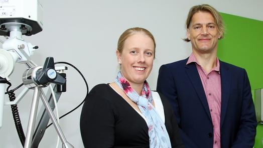 Dr Vanessa Murphy and Professor Joerg Mattes
