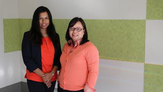 Dr Adjanie Patabendige and Associate Professor Doan Ngo