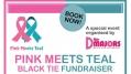 Pink Meets Teal Black Tie Fundraiser