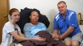 Tarni-Lea, Jackie and Tony Murphy
