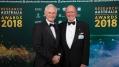 Laureate Professor Nick Talley with Peter Wills