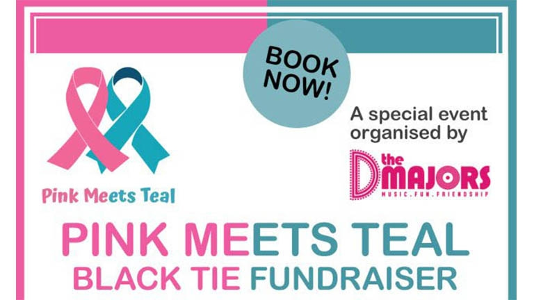 Pink Meets Teal Black Tie Fundraiser